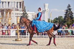 Performance Kremlin Riding School Royalty Free Stock Photo
