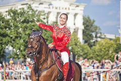 Performance Kremlin Riding School Stock Photos