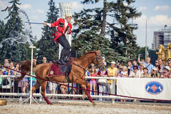 Performance Kremlin Riding School Royalty Free Stock Image