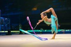Performance of the legendary gymnast Alexandra Soldatova