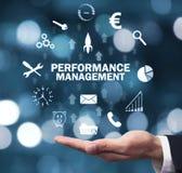 Performance Management. Business technology concept stock photos