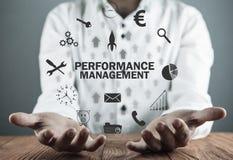 Performance Management. Business technology concept stock photo