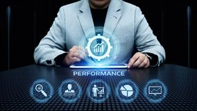 Performance Management Efficiency Improvement Business Technology concept stock photography