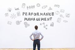 Performance management. Concept on white background royalty free stock photos