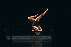 Performance of modern dance Royalty Free Stock Image