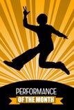 Performance month Stock Photos