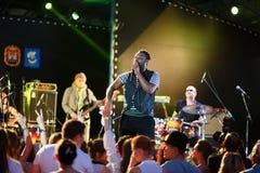 Performance of Mop Mop internationally jazz festival Royalty Free Stock Photos