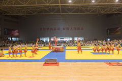 Performance-Opening ceremony--The Eighth GoldenTeam Cup Taekwondo friendly competition Stock Photos