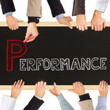 Performance Royalty Free Stock Photography
