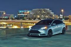 Performance racing car Stock Photo