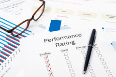 Performance Rating Stock Photos