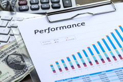 Performance Report Royalty Free Stock Photos