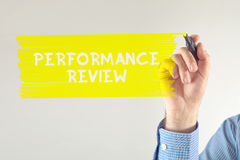 Performance review Stock Photography