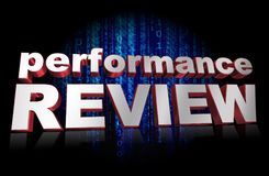 Performance Review  Stock Images