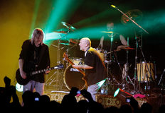 Performance of rock group Nazareth. VITEBSK, BELARUS - MARCH 20: Performance of rock group Nazareth on march 20, 2010 in Vitebsk, Belarus royalty free stock image