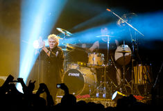 Performance of rock group Nazareth Stock Photos