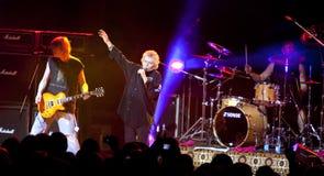Performance of rock group Nazareth Stock Image
