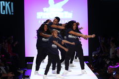 Performance  on the runway during Rookie USA Presents Kids Rock! Fall 2016 Royalty Free Stock Photography