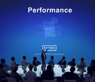 Performance Skill Ability Expertise Professional Experience Conc Royalty Free Stock Photography