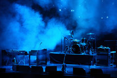 Free Performance Stage Awaiting For Rock Band Royalty Free Stock Photo - 11405725