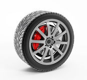 Performance tire Stock Image