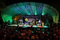 Performance of UB40 internationally jazz festival Stock Photos