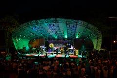 Performance of UB40 internationally jazz festival Stock Photography
