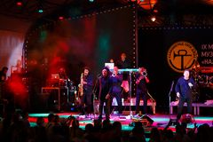 Performance of UB40 internationally jazz festival Stock Images