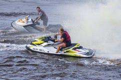 Performances, Watercraft, Tyumen Stock Image
