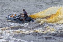 Performances, Watercraft, Tyumen Royalty Free Stock Images