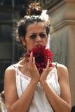 Performer at the Edinburgh Festival Royalty Free Stock Photography