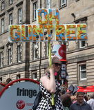 Performer at Edinburgh Fringe Festival 2015 Royalty Free Stock Photo