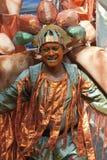 Performer from the ELIMU Paddington Arts float Royalty Free Stock Image