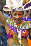Performer from the ELIMU Paddington Arts float Royalty Free Stock Photography