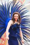 Performer at Gay pride parade in Sitges Royalty Free Stock Photos