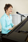 Performer at the Piano Royalty Free Stock Images