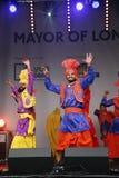 Performers at 2012 Visakhi Festival Royalty Free Stock Photos
