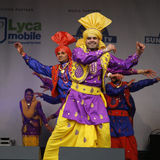 Performers at 2012 Visakhi Festival Stock Photo
