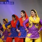 Performers at 2012 Visakhi Festival Stock Images