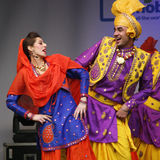 Performers at 2012 Visakhi Festival Stock Photography