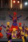 Performers at 2012 Visakhi Festival Royalty Free Stock Image