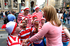 Free Performers At The Edinburgh Festival Stock Photography - 43367582