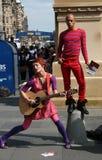 Performers Edinburgh festival Stock Photos