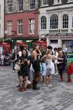 Performers at Edinburgh Fringe Festival Stock Image