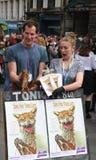 Performers at Edinburgh Fringe Festival 2015 Royalty Free Stock Photos