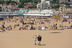 Performers at Kite Festival Weston-super-Mare Somerset Royalty Free Stock Photography