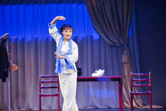 Performing artist -The historical style song and dance drama magic magic - Gan Po Stock Photos