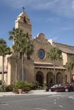 Performing arts centre Spanish Springs USA. Spanish Springs town center Florida USA - October 2016 - The performing arts center on the main square Stock Photo