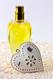 Perfume spray Stock Photo