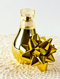 gold bottle Royalty Free Stock Photography